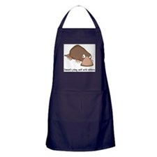 Doesnt Play Well with Others Apron (dark)