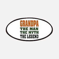 Grandpa The Legend Patches