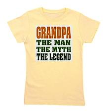 Grandpa The Legend Girl's Tee