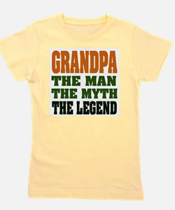 Grandpa The Legend Girl's Tee