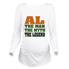 Al The Legend Long Sleeve Maternity T-Shirt