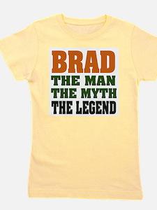 Brad The Legend Girl's Tee