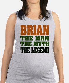 Brian The Legend Maternity Tank Top