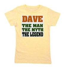 Dave The Legend Girl's Tee