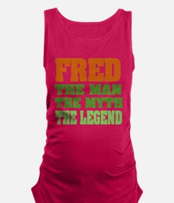 Fred The Legend Maternity Tank Top