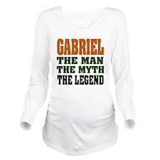 Gabriel The Legend Long Sleeve Maternity T-Shirt