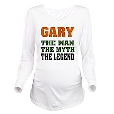 Gary The Legend Long Sleeve Maternity T-Shirt