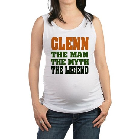 Glenn The Legend Maternity Tank Top