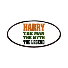 Harry The Legend Patches
