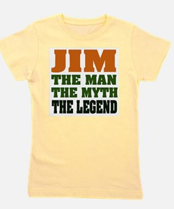Jim The Legend Girl's Tee