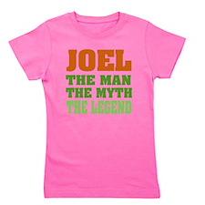 Joel The Legend Girl's Tee