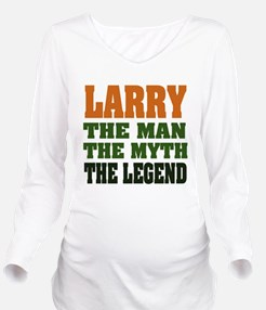 Larry The Legend Long Sleeve Maternity T-Shirt