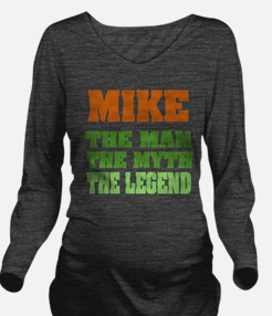 Mike The Legend Long Sleeve Maternity T-Shirt