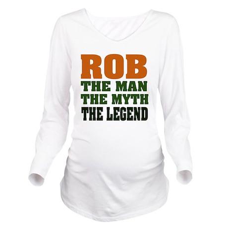 Rob the Legend Long Sleeve Maternity T-Shirt