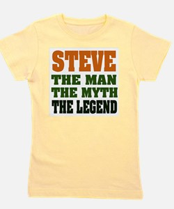 Steve The Legend Girl's Tee