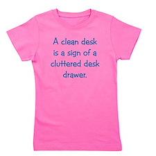 Clean Desk Girl's Tee
