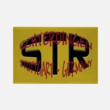 STR Stuttgart Germany Rectangle Magnet (100 pack)