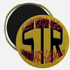 """STR Stuttgart Germany 2.25"""" Magnet (100 pack)"""