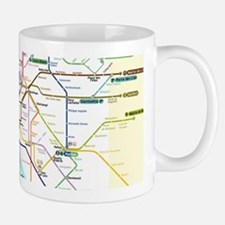 Paris Metro Map Mug