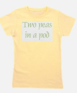 Two Peas in a Pod Girl's Tee