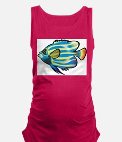 Tropical Fish 1 Maternity Tank Top