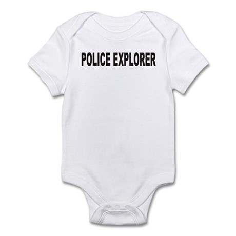 POLICE EXPLORER Infant Bodysuit