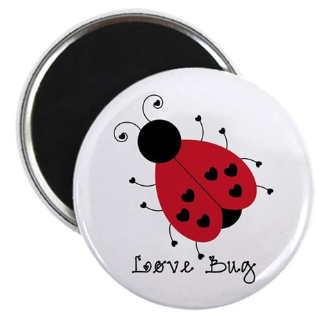 """Love Bug 2.25"""" Magnet (10 pack)"""