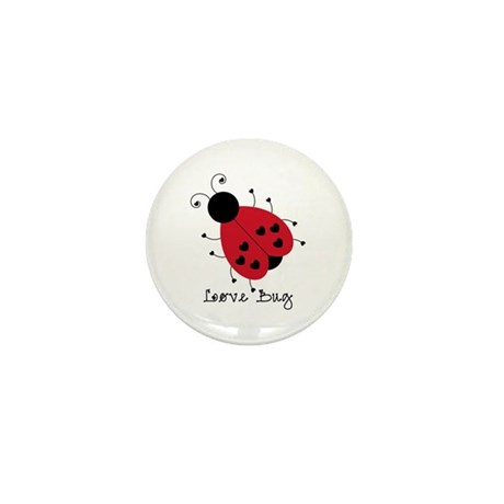 Love Bug Mini Button (100 pack)