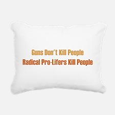 gunsdontkill.png Rectangular Canvas Pillow
