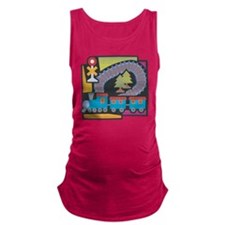 Electric Trains Maternity Tank Top