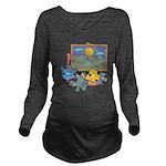 Jigsaw Puzzle Long Sleeve Maternity T-Shirt