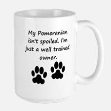 Well Trained Pomeranian Owner Mugs