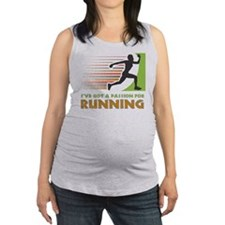 Passion for Running Maternity Tank Top