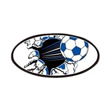 Soccer Ball Burst Patches