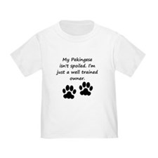 Well Trained Pekingese Owner T-Shirt