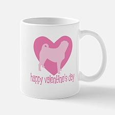 Pug Valentine Mug
