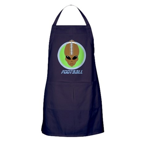 alien football alien football head apron dark by fullmoonemp