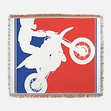 PeeWee Motocross Woven Blanket