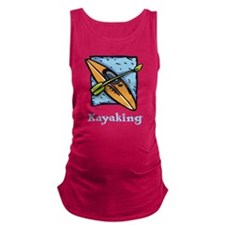 Kayaking Maternity Tank Top