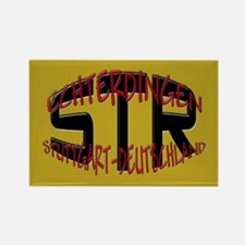 STR Stuttgart Deutschland Rectangle Magnet (100 pa