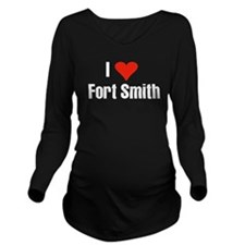 I Love Fort Smith Long Sleeve Maternity T-Shirt