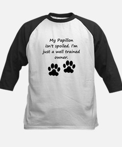 Well Trained Papillon Owner Baseball Jersey