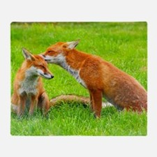 fox friends Throw Blanket