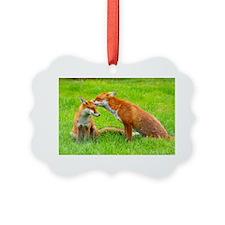 fox friends Ornament