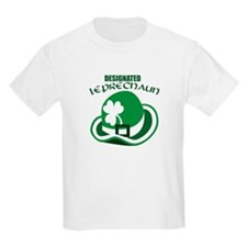 Designated Leprechaun Kids T-Shirt