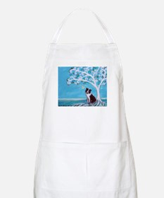 Border Collie Tree of Life Apron