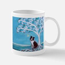 Border Collie Tree of Life Mugs