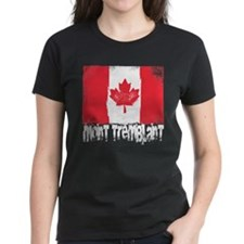 Mont-Tremblant Grunge Flag Tee
