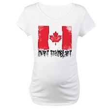 Mont-Tremblant Grunge Flag Shirt