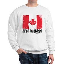Mont-Tremblant Grunge Flag Sweatshirt